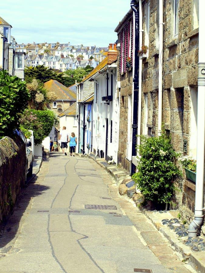 Het Konijnenveld, St. Ives, Cornwall. stock foto