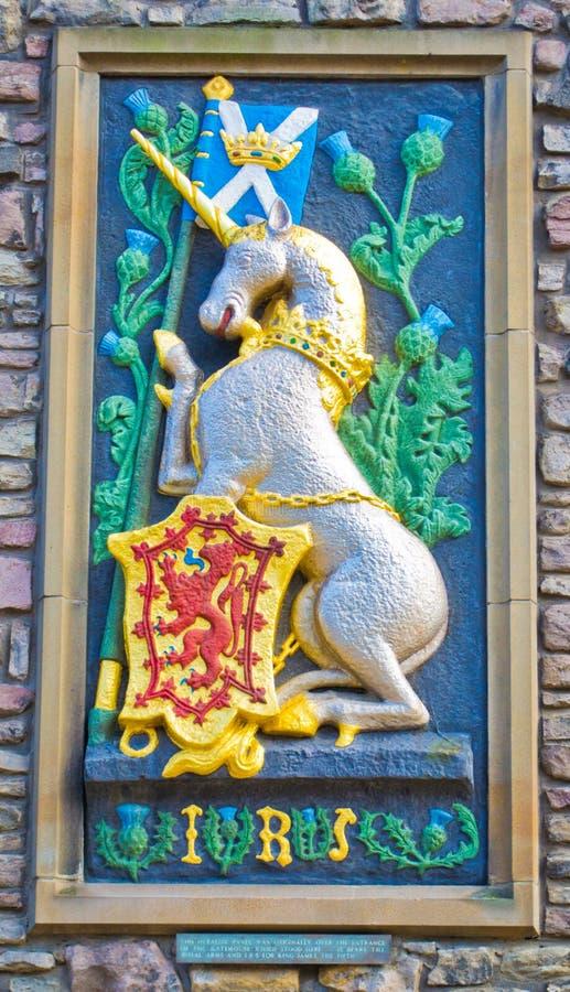 Het koninklijke Paard van Schotland stock foto