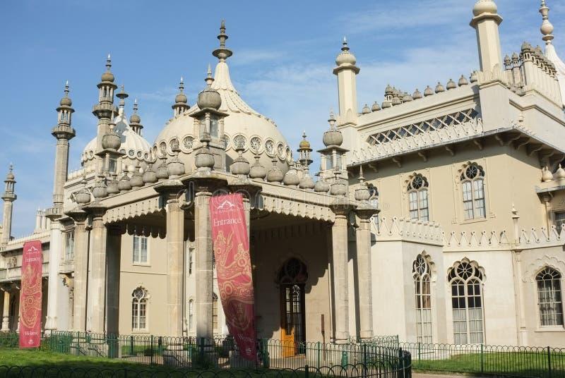 Het Koninklijke Paviljoen van Brighton stock afbeeldingen