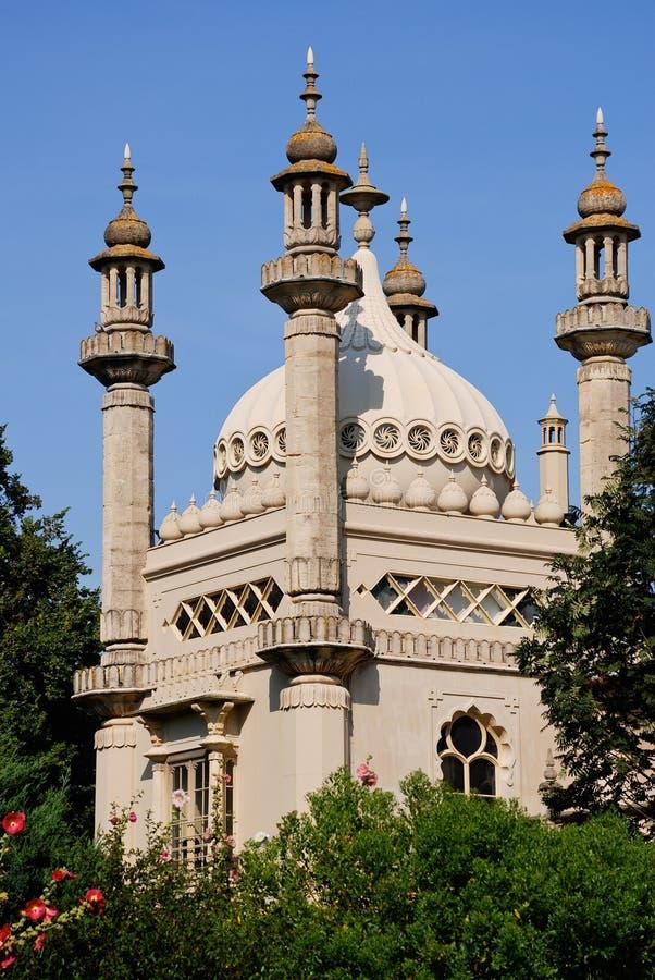 Het Koninklijke Paviljoen van Brighton stock afbeelding