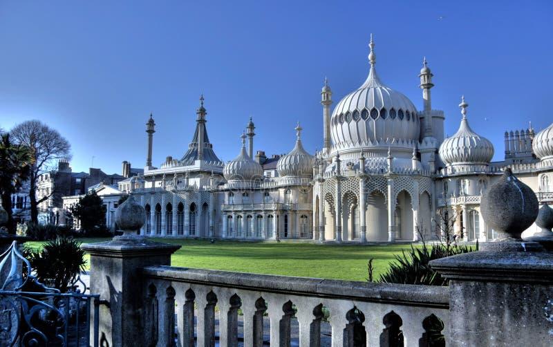 Het Koninklijke Paviljoen van Brighton stock foto's