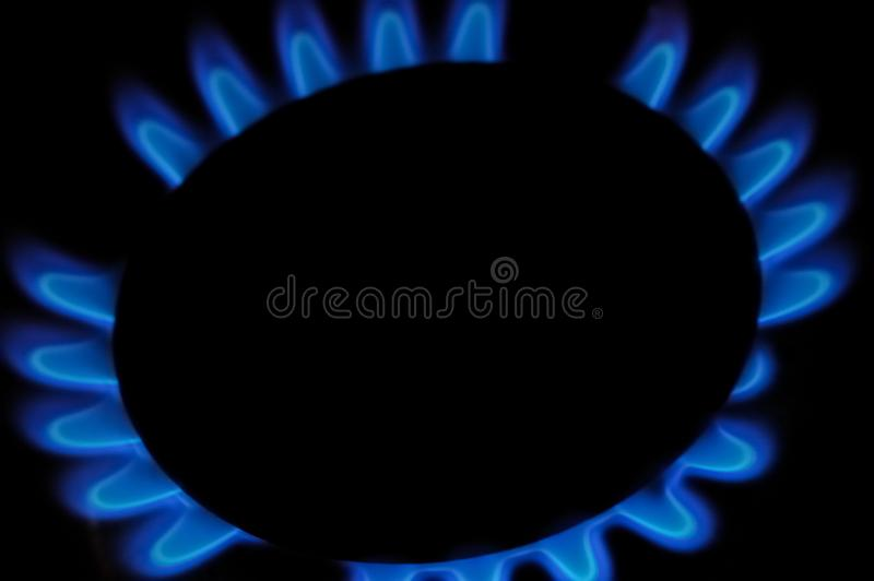 Gaskooktoestel royalty-vrije stock afbeelding