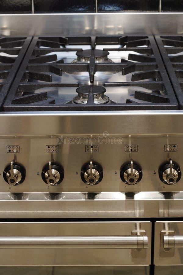 Het kooktoestel van het roestvrij staal stock afbeelding
