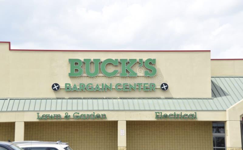 Het Koopjescentrum van de bok, Southaven, lidstaten stock foto