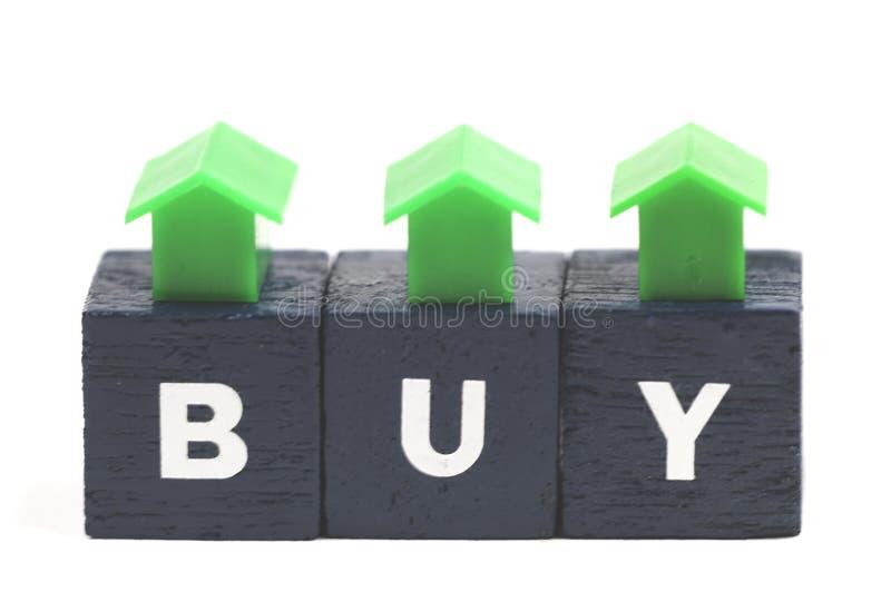 Het kopen of het verkopen? royalty-vrije stock foto's