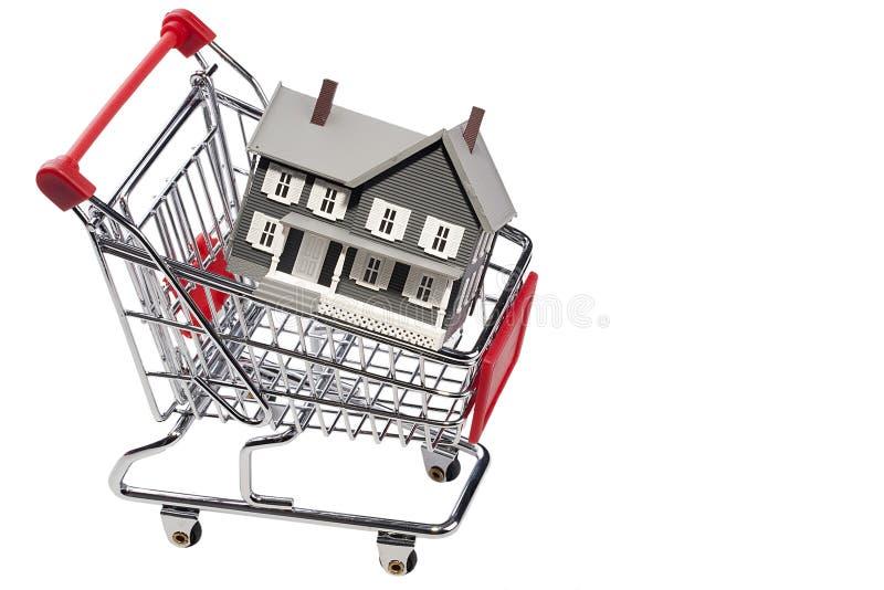 Het kopen van een Huis stock fotografie