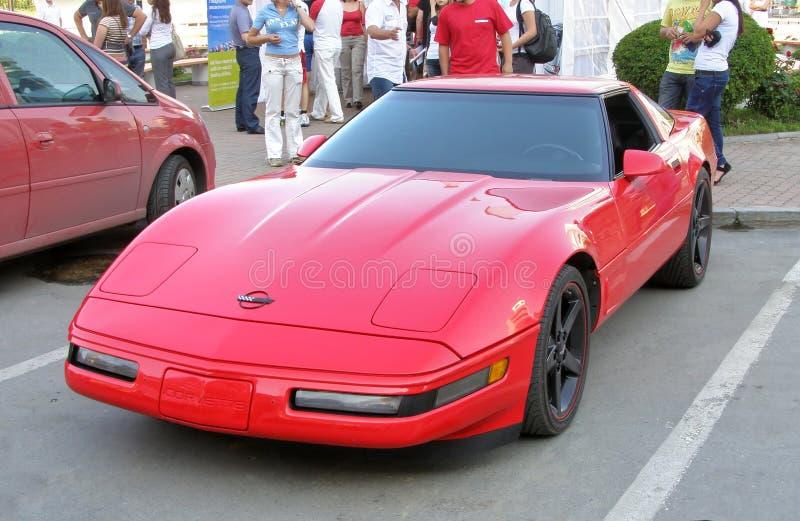 Het Korvet van Chevrolet royalty-vrije stock afbeeldingen