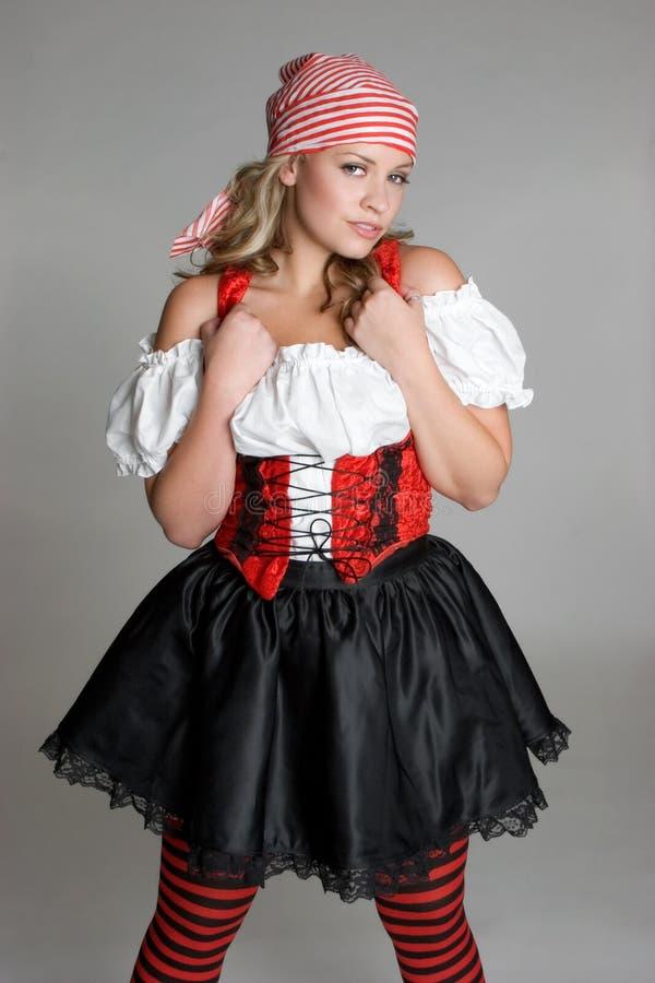 Het Kostuum van de piraat stock afbeeldingen
