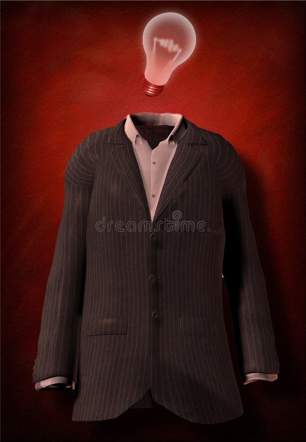 Het Kostuum van het idee stock fotografie