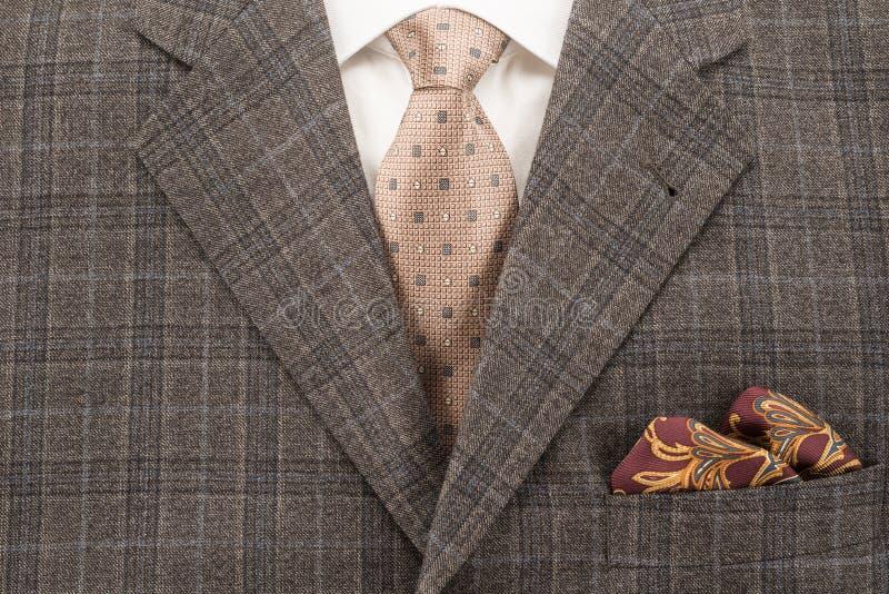 Het Kostuum van mensen royalty-vrije stock afbeelding