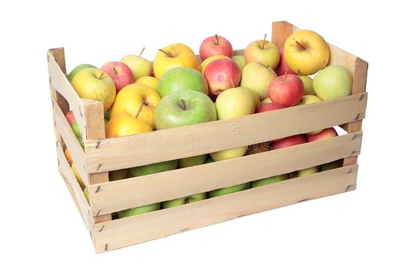 Het krat van de appel stock afbeelding afbeelding bestaande uit krat 26001607 - Krat met appel ...