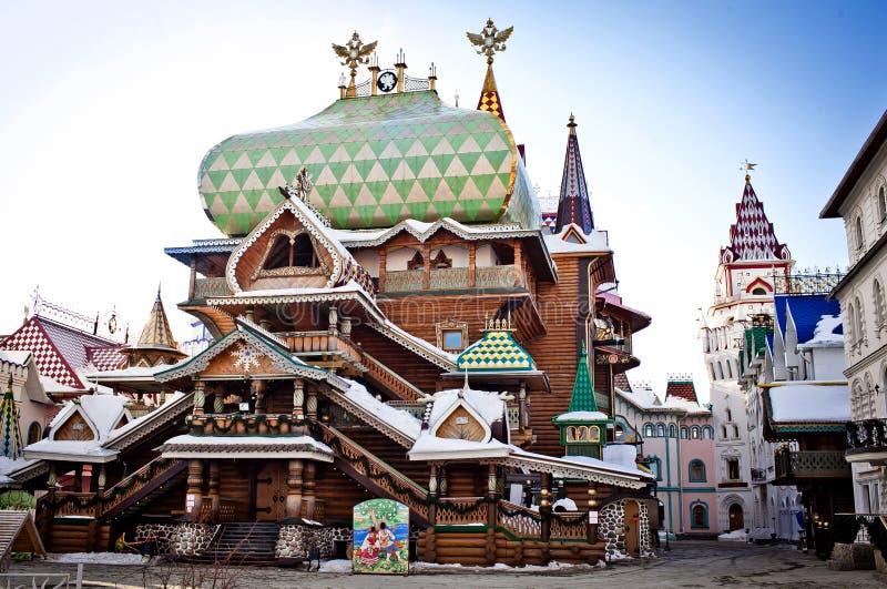 Het Kremlin in Izmailovo stock afbeeldingen