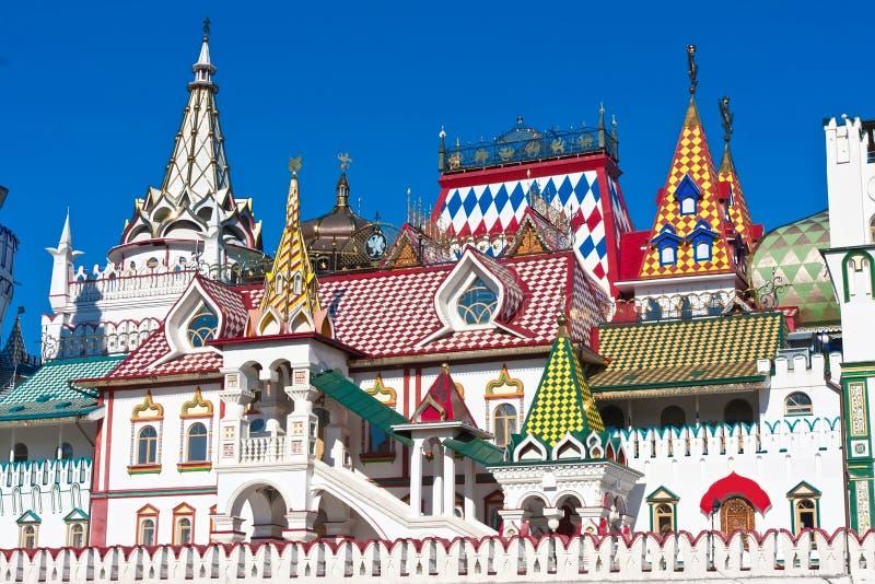 Het Kremlin in Izmailovo royalty-vrije stock foto's