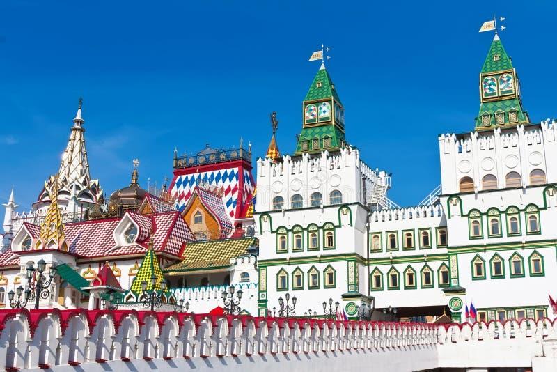 Het Kremlin in Izmailovo stock fotografie
