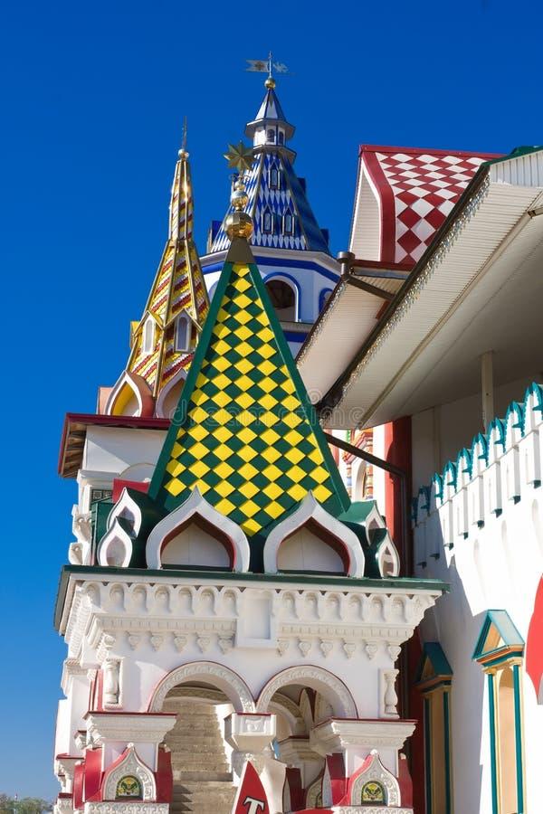 Het Kremlin in Izmailovo stock afbeelding