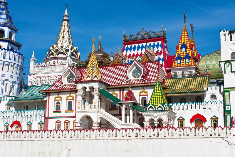 Het Kremlin in Izmailovo royalty-vrije stock fotografie