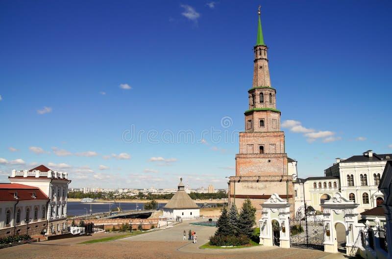 Het Kremlin in Kazan royalty-vrije stock fotografie