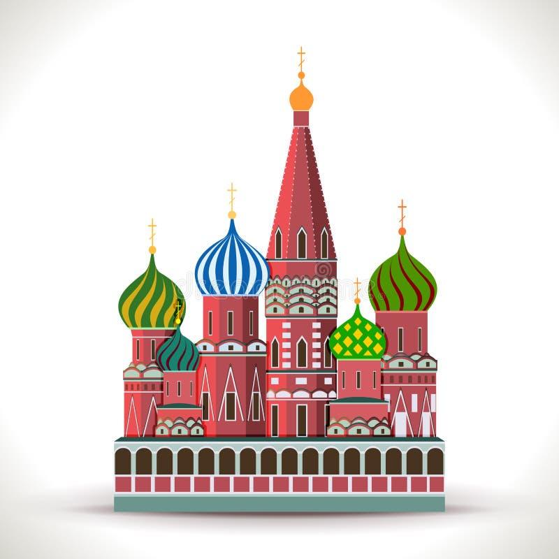 Het Kremlin, Moskou stock illustratie