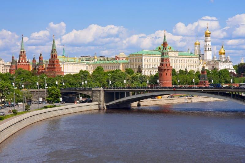 Het Kremlin, Moskou, Rusland stock afbeeldingen