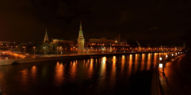 Het Kremlin. Moskou. Rusland. royalty-vrije stock foto's