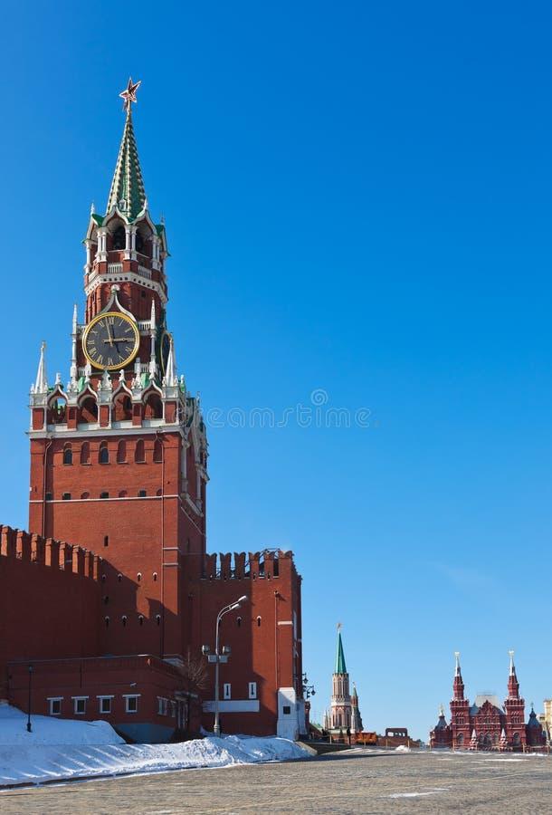 Het Kremlin in Moskou (Rusland) royalty-vrije stock foto