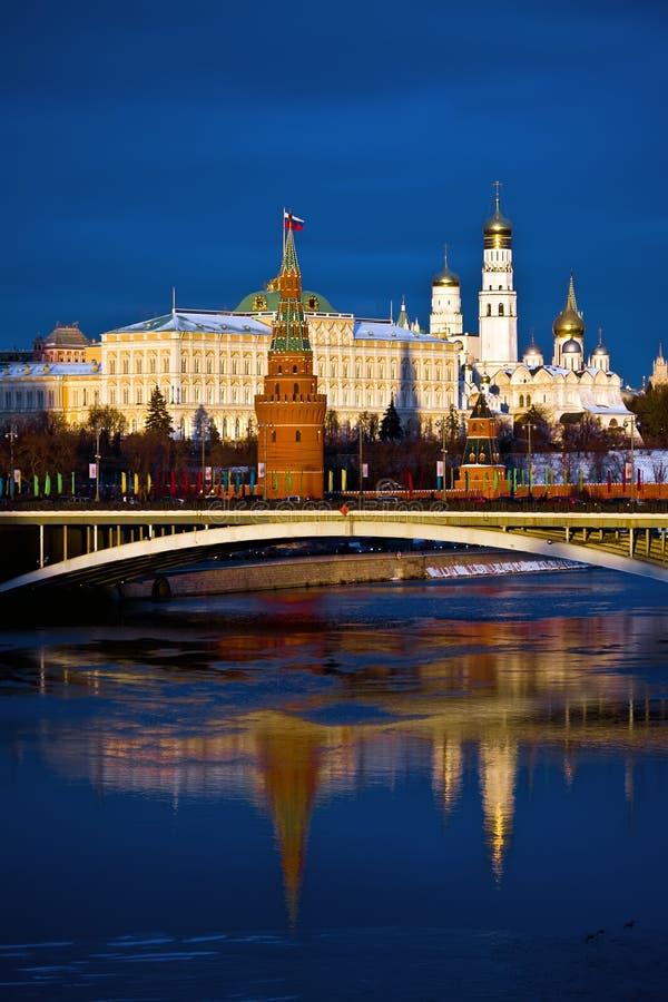 Het Kremlin. Moskou. Rusland stock afbeelding