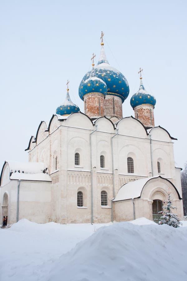Het Kremlin, Suzdal. Gouden Ring, Rusland stock foto's