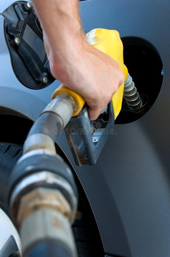 Het krijgen van Gas of benzine royalty-vrije stock fotografie
