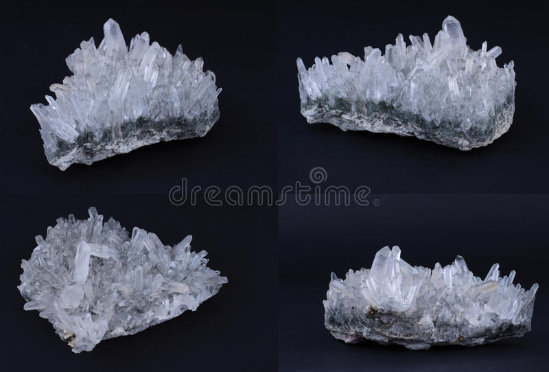 Het kristal van de rots royalty-vrije stock foto's