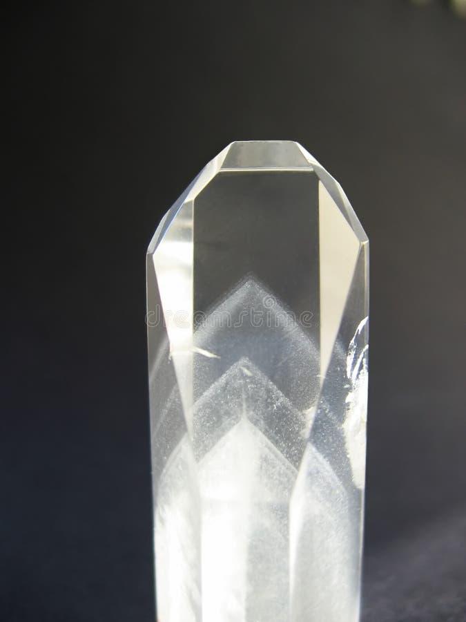 Het kristal van de rots stock foto