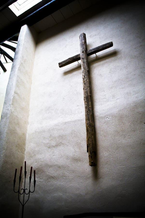 Het kruis royalty-vrije stock afbeeldingen
