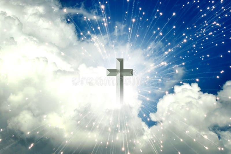 Het kruis stock illustratie