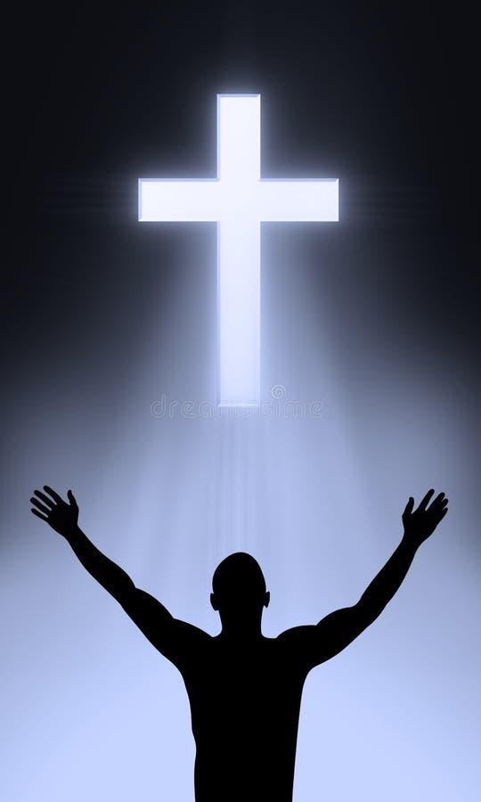 Het kruis royalty-vrije illustratie