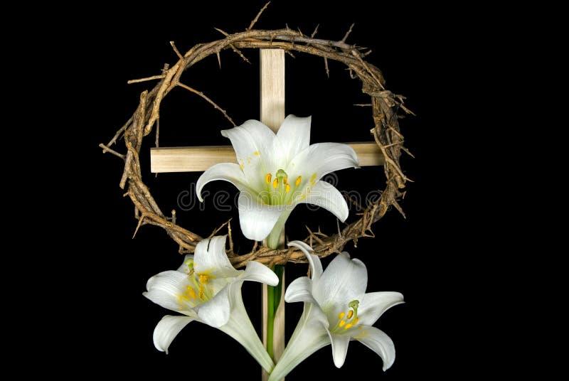 Het Kruis van Pasen stock afbeelding