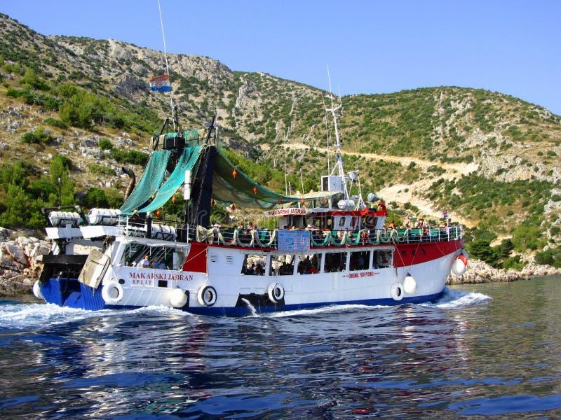 Het kruisen van Adriatic stock foto's