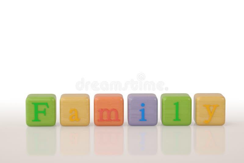 Het kruiswoordraadsel van de hoopgod op witte achtergrond 3D Illustratie vector illustratie