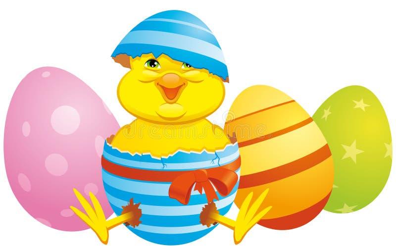 Het kuiken van Pasen vector illustratie