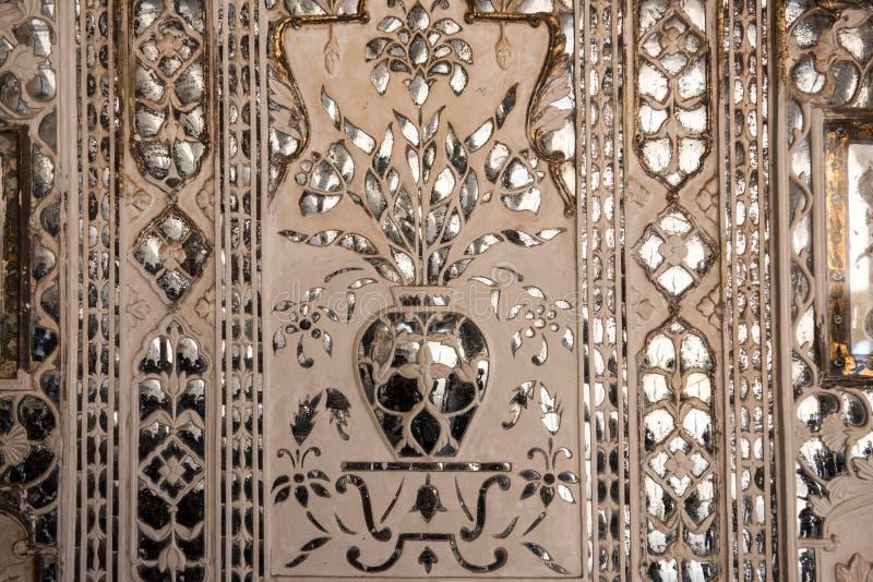 Het Kunstwerk van Sheeshmahal royalty-vrije stock afbeelding