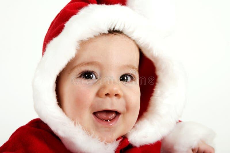 Het kwijlen over Kerstmis stock foto