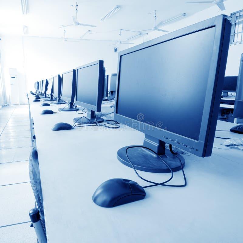 Het Laboratorium van de computer royalty-vrije stock foto