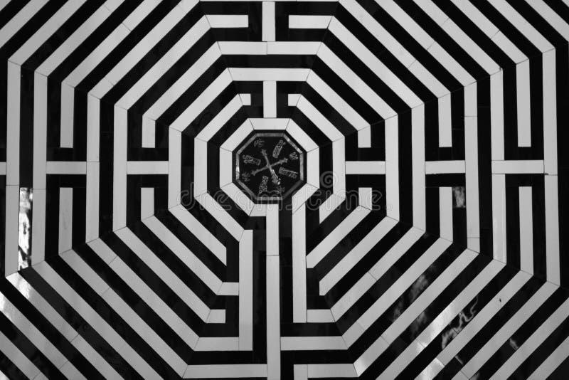 Het labyrint royalty-vrije stock foto's