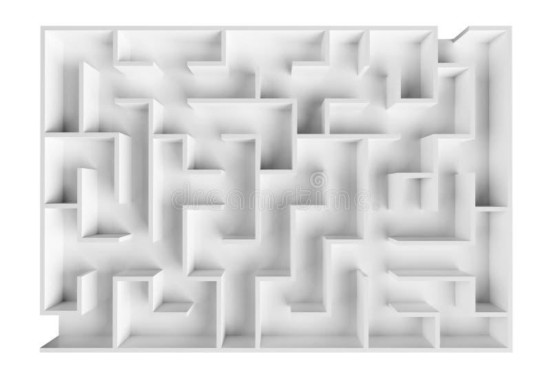 Het labyrint van het laboratorium vector illustratie