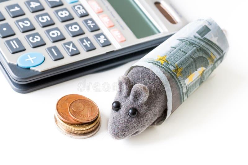 Het lage concept van de huisbegroting stock foto's