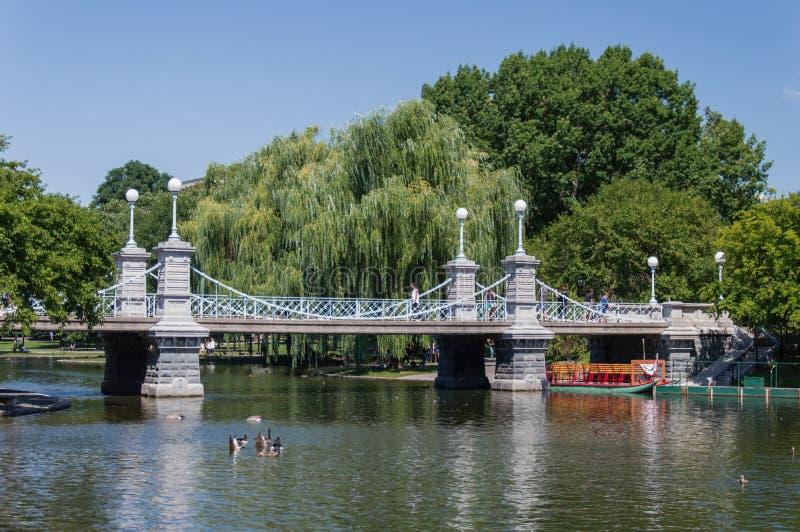 Het Lagerhuisbrug van Boston royalty-vrije stock fotografie