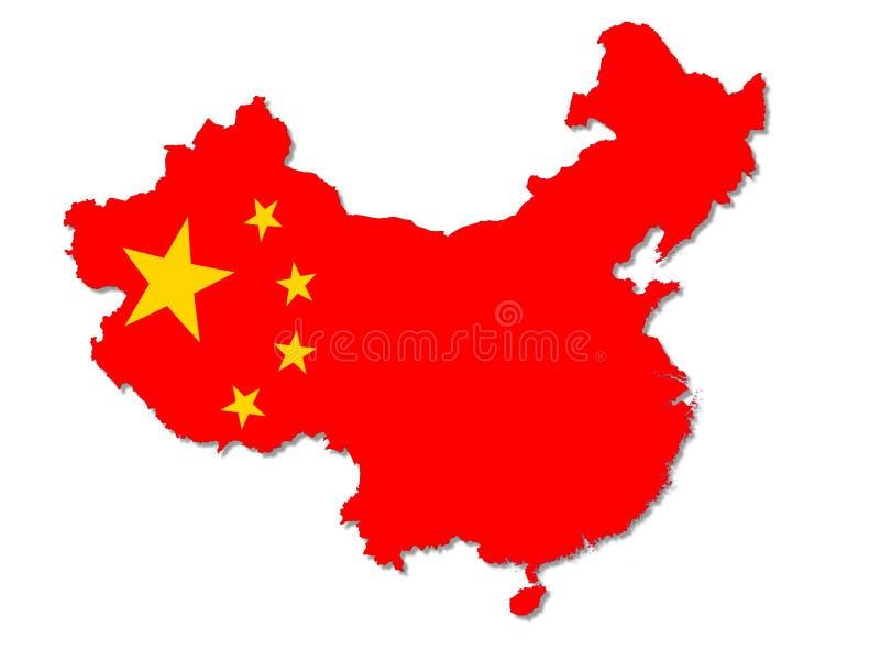 Het land van China vector illustratie