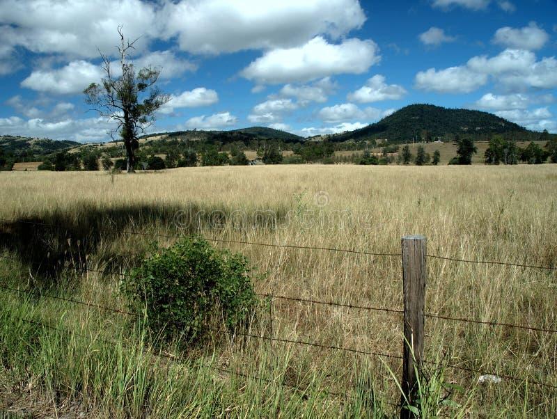 Het land van Glenwood stock foto's