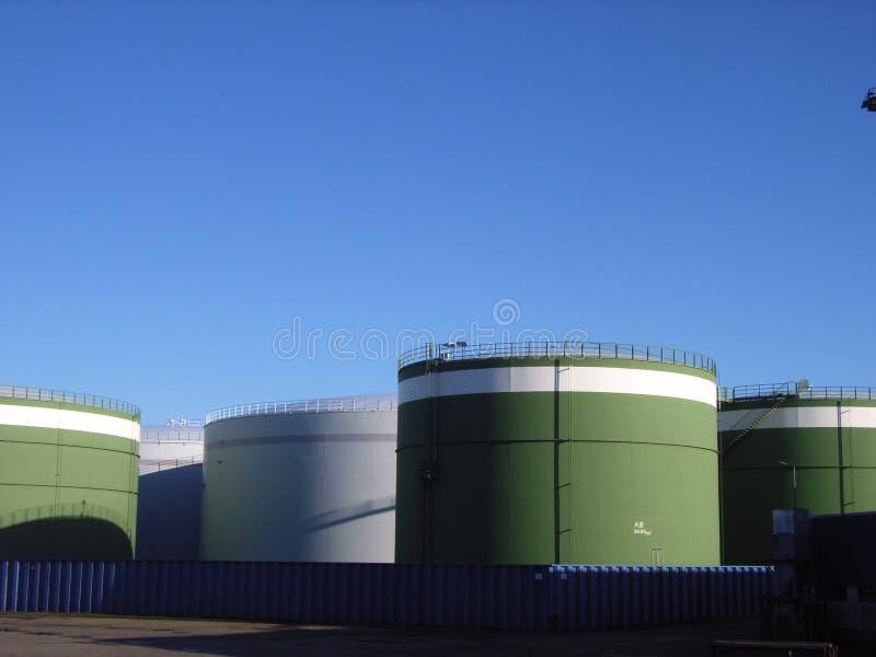 Het landbouwbedrijf van de brandstof stock foto's