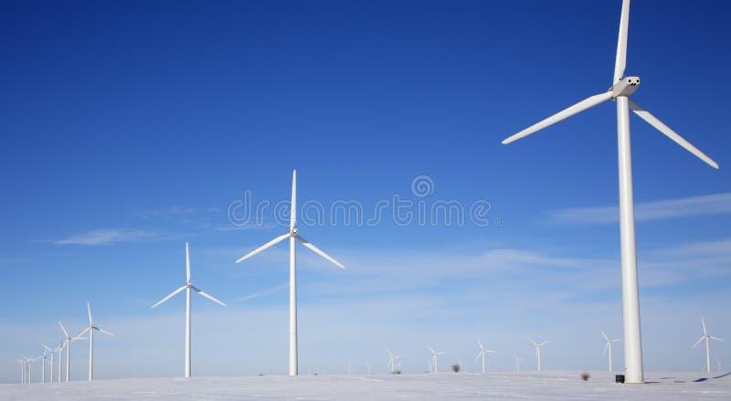 Het Landbouwbedrijf van de wind royalty-vrije stock afbeeldingen