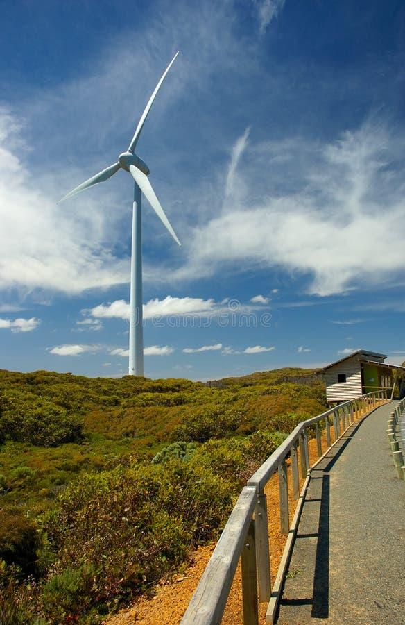 Het Landbouwbedrijf van de wind stock afbeelding