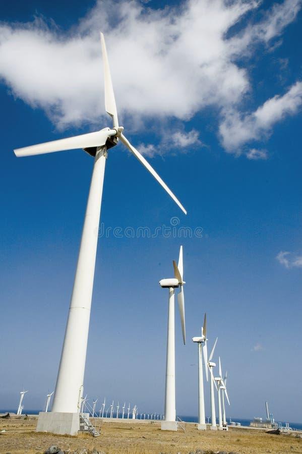 Het landbouwbedrijf van de wind in Gran Canaria 2 stock afbeelding